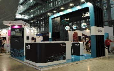 Eset booth for Cybertech Worldwide