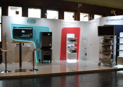 Bespoke exhibition stand for medical congress