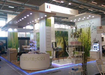 Nature Cos trade show design