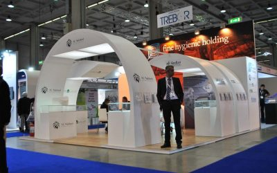 Booth rental for Tissue World