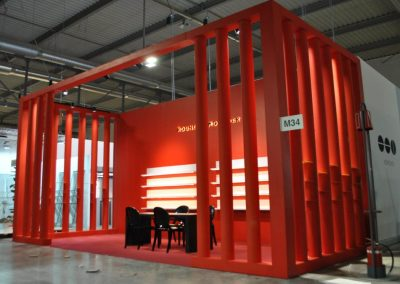 Mido stand design and construction
