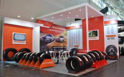 Bespoke design stand for Automotive sector