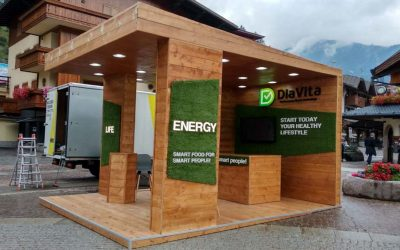 Diavita outdoor exhibition space