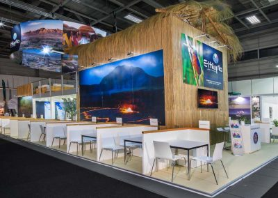 Ethiopian Tourism Organization stand for ITB