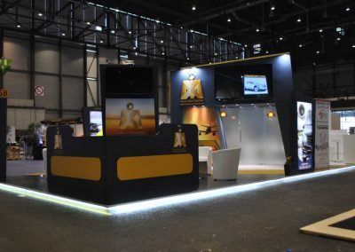Mixjet booth installation for EBACE