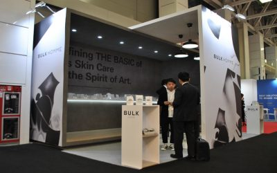 Bulk exhibition stand at Cosmoprof Worldwide