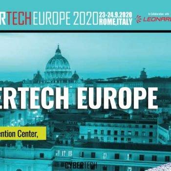 Cybertech Europe 2020.