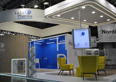 Lo.Li Pharma International stand at ESHRE