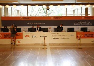World Retail Congress all around exhibition service