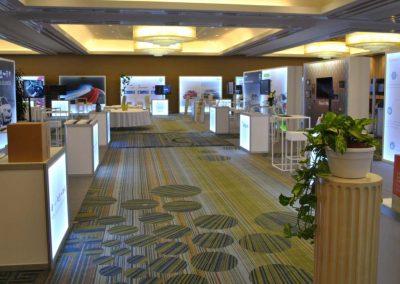 Fleet Europe modular exhibition stands