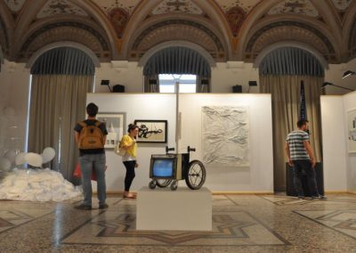 Artistic and Photographic exhibition installation