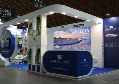Grimaldi Lines stands for travel trade show